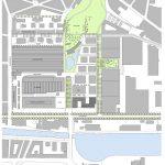Lageplan Herman Teirlinck Gebäude. Zeichnung: Neutelings Riedijk Architecten