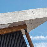 Dachkante, Betonoptik. Bild: Cladding Partners