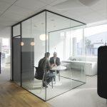 Neue Raumstrukturen ohne Abstriche hinsichtlich Transparenz. Bild: Glas Trösch