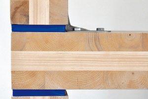 Schallentkopplung im Holzbau - Entkopplungsstreifen aus Karton und Sand