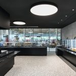 Von Ippolito Fleitz gestaltetes Restaurant