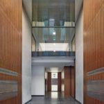 Materialkombination aus Holz und Beton