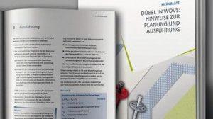 VDPM-Merkblatt Dübel: Das Merkblatt steht unter www.vdpm.info zum kostenlosen Download bereit. Bild: VDPM