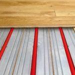 Dielenboden auf Fußbodenheizung. Bild: WEM