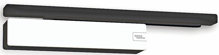 Gleitschienentürschließer für lautloses Schließen. Bild: dormakaba