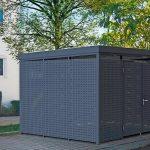 Einhausungen im Baukastensystem. Bilder : Gerhardt Braun