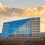 """Bürohaus """"The Edge"""" : Herausragend zertifiziert. Bild: Ronald Tillemann"""