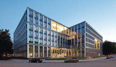 Nachhaltiges Bürogebäude in der Hamburger City Nord. Bild: Hans Jürgen Landes