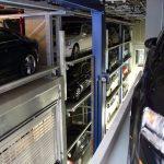 Innenanisicht einer Tiefgarage mit automatischem Parksystem. Bild: Stopa GmbH