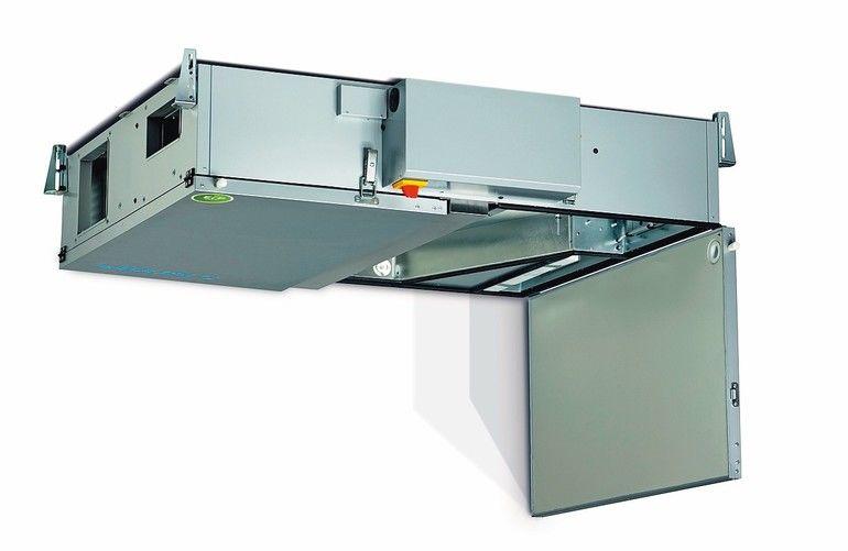 Lüftungsgeräte sind platzsparend und passivhausgeeignet. Bild: Airflow Lufttechnik GmbH
