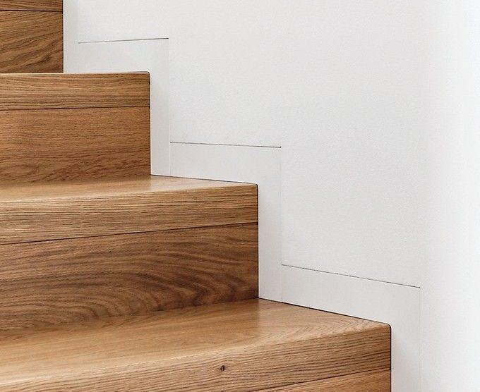 Sockelleisten-Profile wandbündig und minimalistisch eingebaut: So lässt sich ein harmonischer Übergang von der Wand zum Boden schaffen. Bild: Eclisse