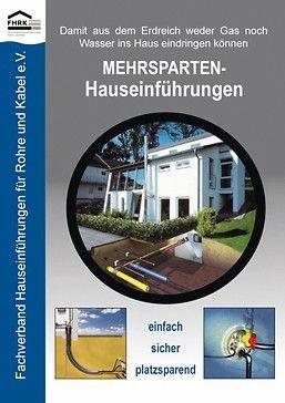 Broschüre über Hauseinführungen. Bild: FHRK