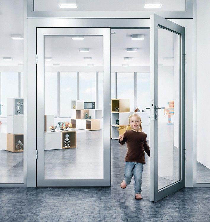Freilauf-Funktion für verdeckt liegenden Türschließer. Bild: Gretsch-Unitas