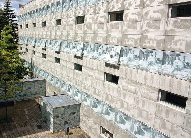 Fotobeton, Lichtbeton und 3D-Betondruck - Gestaltungsvielfalt für Betonfassaden. Bild: HNEE/Susanne Kambor