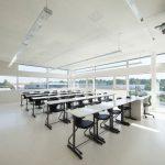 Lotzer-Realschule: Alle 16 Klassenräume werden mit dem BTA-Lüftungssystem kombiniert mit Frischluft versorgt und gekühlt. Bild: Kiefer