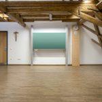 Die gewählte Kombination aus Norit-Trockenestrich sowie Fußbodenheizung erfüllt sogar die für Schulgebäude geforderte Feuerwiderstandsklasse F120. Bild: Lindner
