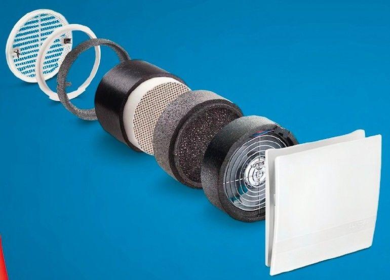 Luftzufuhr mit integriertem Filter. Bild: Lunos