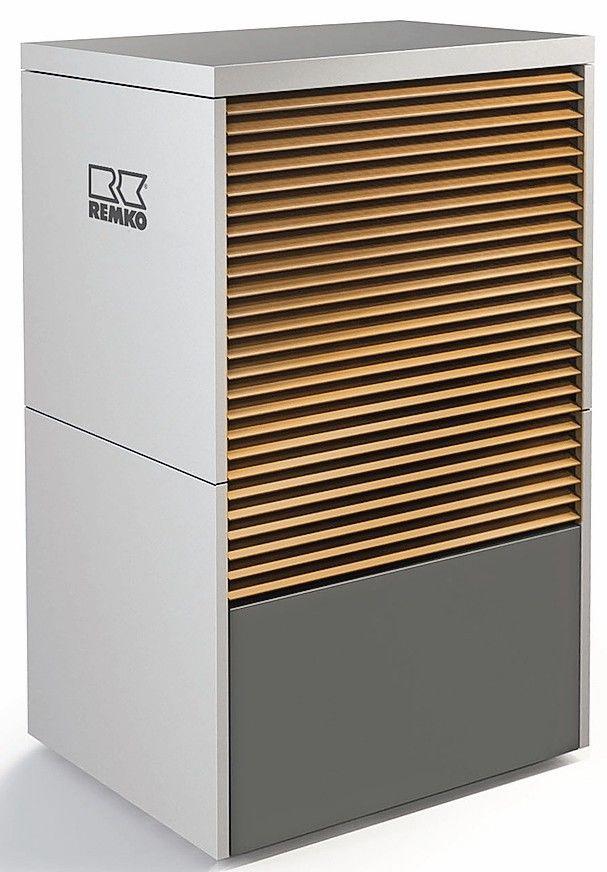 Chic: Monobloc-Wärmepumpe für platzsparende Außenaufstellung