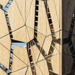 Insgesamt 100m³ Accoya-Holz kamen beim Bau des Aussichtsturms zum Einsatz. Bild: Rhodia Acetow / Katja Effting