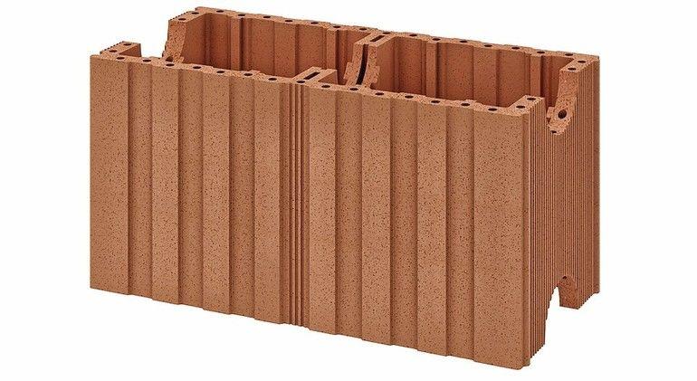 Ziegel für schalldämmende Wohnungstrenn- und Treppenraumwände: Planziegel Poroton-S-Sz mit einem geprüften Schalldämm-Maß Rw,Bau,Ref von 62,8 dB. Bild: Schlagmann Poroton