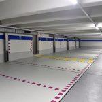 Bei der Sanierung des Telekom-Parkhauses in Traunstein kamen drei unterschiedliche Beschichtungslösungen auf Flüssigkunststoff-Basis zum Einsatz. Bilder: Triflex