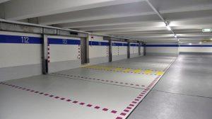 Bei der Sanierung des Telekom-Parkhauses in Traunstein kamen drei unterschiedliche Beschichtungslösungen auf Flüssigkunststoff-Basis zum Einsatz.