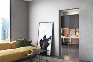 Schiebetür-System mit mehr Raum durch Fächenbündigkeit. Bild: Wingburg GmbH