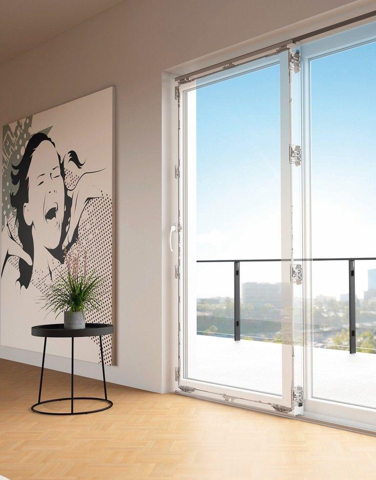 Modellansicht der Verriegelung eines Schiebetürsystems mit Kunstoffrahmen. Bild: Hautau GmbH