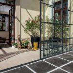 Wintergarten mit Glasschiebetür. Bild: Rako