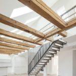Treppe als zentrales, raumgestaltendes Element