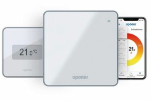 Handy-Thermostatapp von Uponor