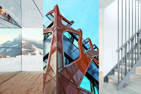 Aluminiumfassade, Corten-Stahl-Fassade, Stahltreppe: die Top 3 Bauprojekte der neuen bba