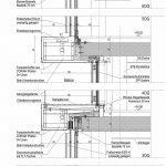 Detail Vertikalschnitt Ostfassade. Zeichnung: GSP Architekten