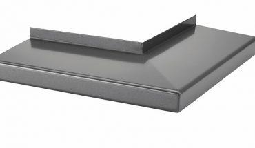 Außenfensterbank mit Eckverbindung: schlagregendicht und optisch gut dank der Herstellungsweise aus nur einem Aluminiumstück ohne Schweißnaht. Bild: RBB Aluminium