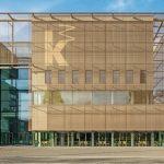 Eine farbneutrale, reflexionsarme Verglasung sorgt in der Kunsthalle Mannheim für ungehinderten Lichteinfall, freien Ausblick und unverfälschte Farbwiedergabe. Bild: Constantin Meyer Photographie