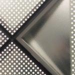 Die unterschiedlichen Elementtypen zeichnen sich durch eine verschieden intensive Bedruckung zu 1/4, 1/2, 3/4 und 4/4 aus. Bild: Andreas Bittis/Saint-Gobain Glass