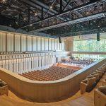 Konzertsaal mit bester Akustik bei für unterschiedliche Musikformen und mit einer zusätzlich schönen Aussicht. Bild: Bart van Hoek