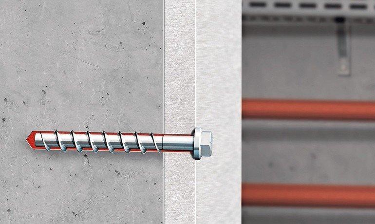Verankerungssystem: Schwere Lasten sicher in Beton verankern. Bild: Adolf Würth