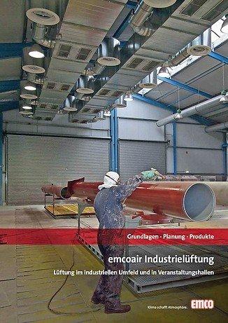 Broschüre zum Thema Industrielüftung
