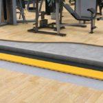 """Die elastischen Bodenaufbauten """"g-fit"""" von Getzner sind dafür konzipiert, Lärm und Vibrationen in Fitness-Studios zu reduzieren. Bild: Getzner"""