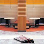 Doppelboden mit integrierter Fußbodenheizung