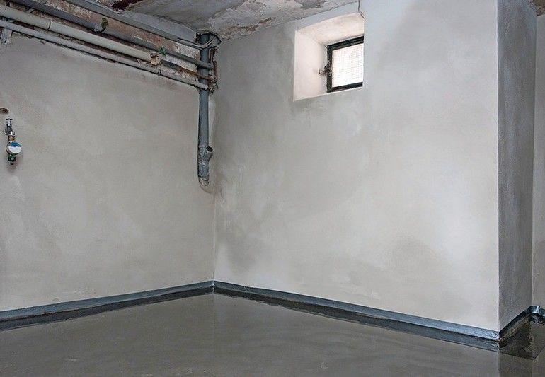 Berühmt Kellerboden-Sanierung versiegelt feuchte Böden wirkungsvoll JI79
