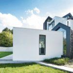 In der historischen Altstadt von Warendorf wurde von Spiekermann Architekten ein expressiv gestaltetes Einfamilienhaus aus Kalksandstein errichtet. Bilder: Architekten Spiekermann