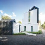 Typische Dachformen der Umgebung wurden ausschnittweise aufgegriffen und als versetzte Dächer in das Entwurfskonzept übertragen. Bild: Architekten Spiekermann