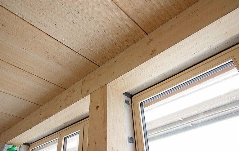 """Furnierschichtholz für moderne Holzkonstruktionen: """"Steico G LVL Furnierschichtholz"""" ist v. a. in hoch belasteten Bauteilen hochbelastbar und formstabil. Bild: Steico"""