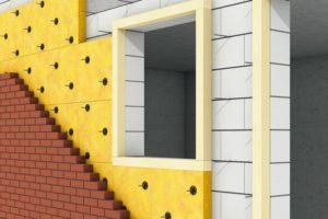 Mauerrandstreifen (XPS) für die Dämmung von zweischaligem Mauerwerk