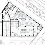 Grundriss Erdgeschoss. Zeichnung: Mulderblauw architecten | Paul de Ruiter Architects