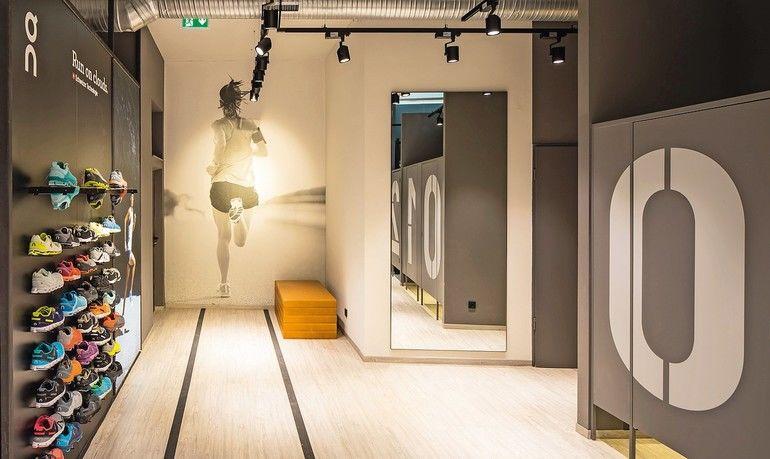 Vinylboden für Sportladen in Hamburg - In Szene gesetzt