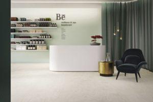 """Bioboden ohne Chlor, Weichmacher und Lösungsmittel: Mit """"Purline Bioboden wineo 1500"""" sind kreative Bodenlösungen mit mehr als 120 Designs möglich. Bild: wineo"""