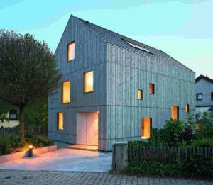 Wohnhaus in Brettsperrholzbauweise
